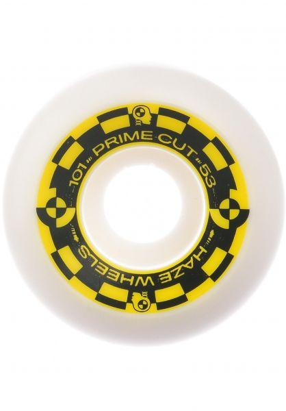 Haze Wheels Rollen Prime Cut II 100A white vorderansicht 0135389