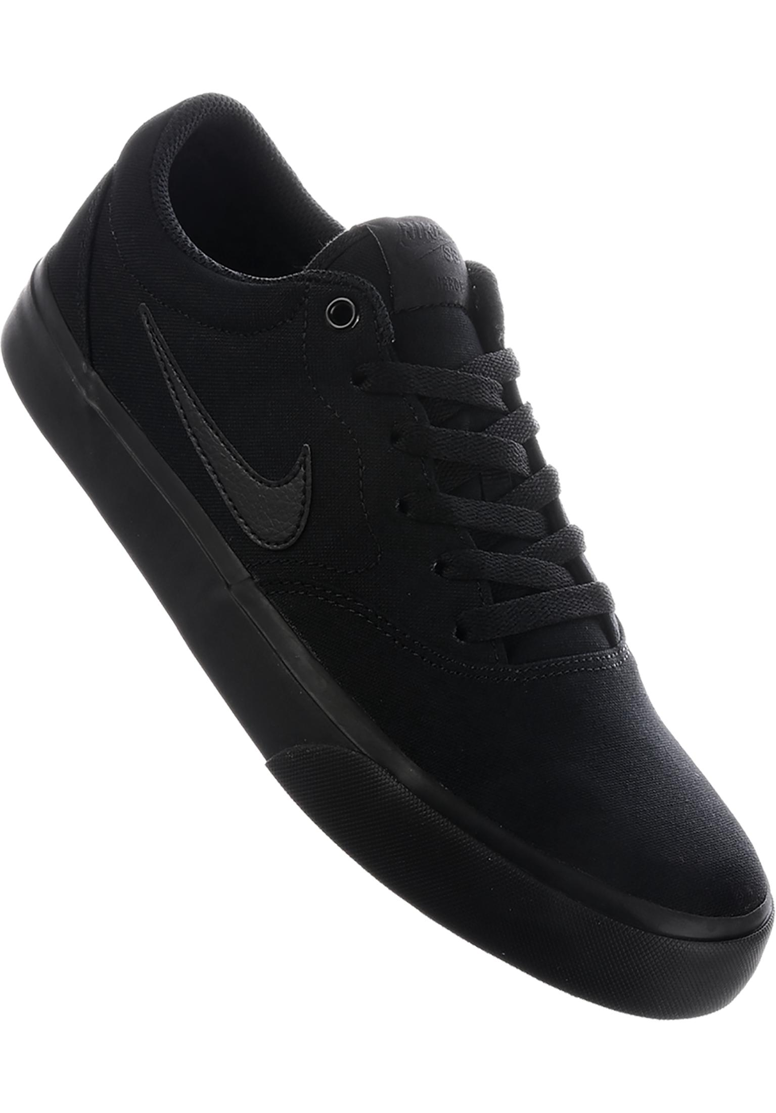 8339bebe7a96 Charge Solarsoft Nike SB All Shoes in black-black for Men
