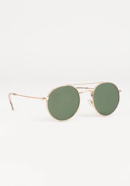 CHPO Sonnenbrillen Noel gold-green vorderansicht 0590658