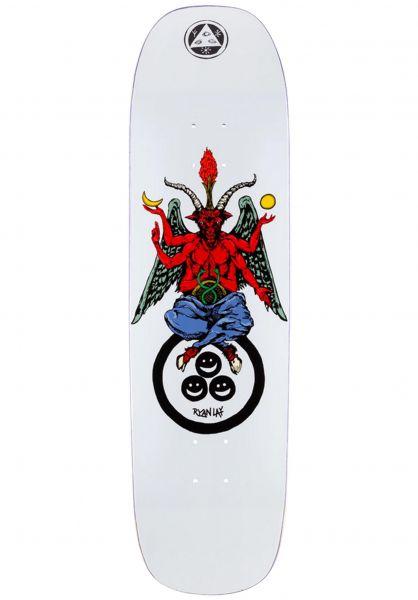 Welcome Skateboard Decks Ryan Lay Bapholit Stonecipher white vorderansicht 0264022