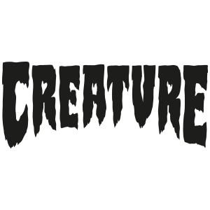 Logo Stumps Creature Skateboard Decks in green | Titus