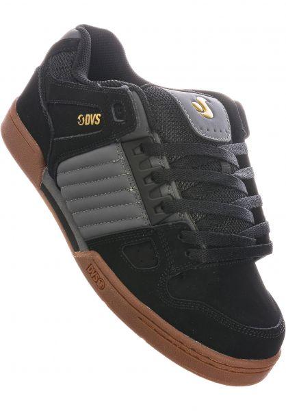 DVS Alle Schuhe Celsius black-castlerock-gum vorderansicht 0603780