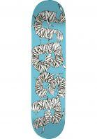 ÿBER Skateboard Decks Laces blue Vorderansicht