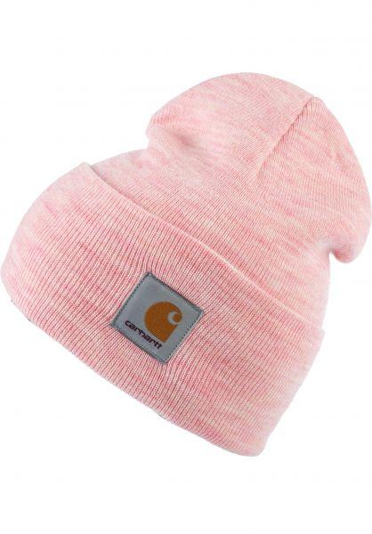 Carhartt WIP Mützen Acrylic Watch Hat powderyheather vorderansicht 0570844