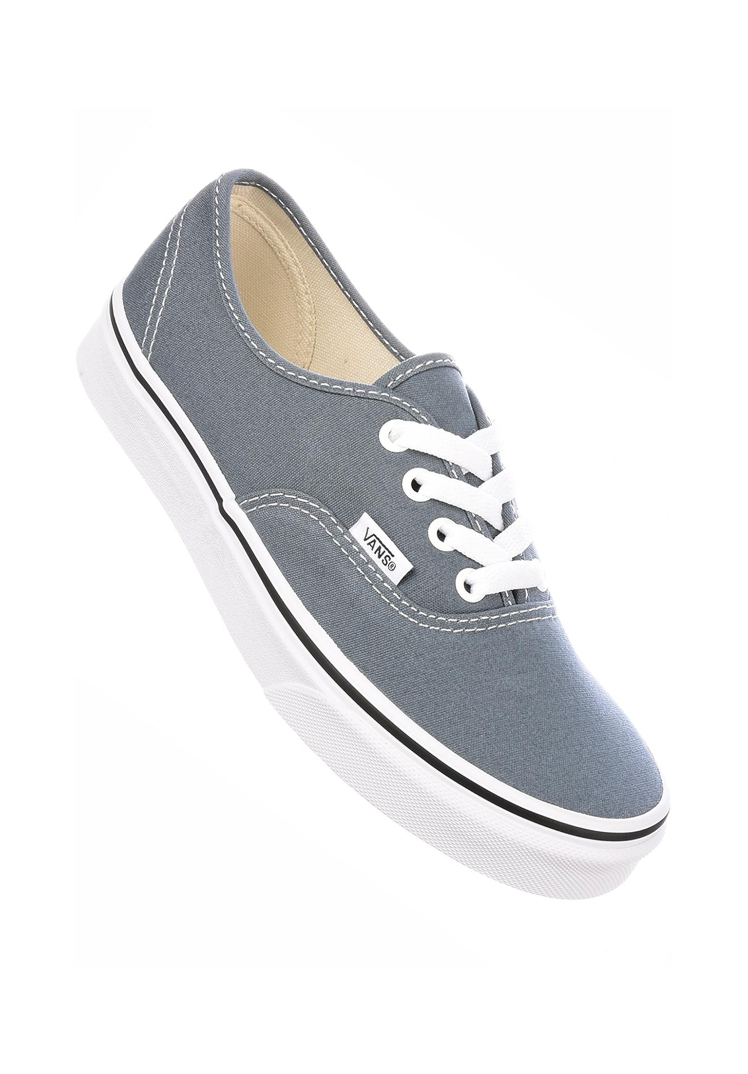 84f869762ea931 Authentic Classic Vans All Shoes in goblinblue-truewhite for Women ...