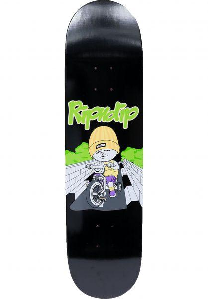 Rip N Dip Skateboard Decks Must Be Ridin black vorderansicht 0265254