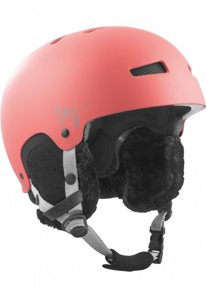 TSG Snowboardhelme Lotus Solid Color satin bittersweet Vorderansicht