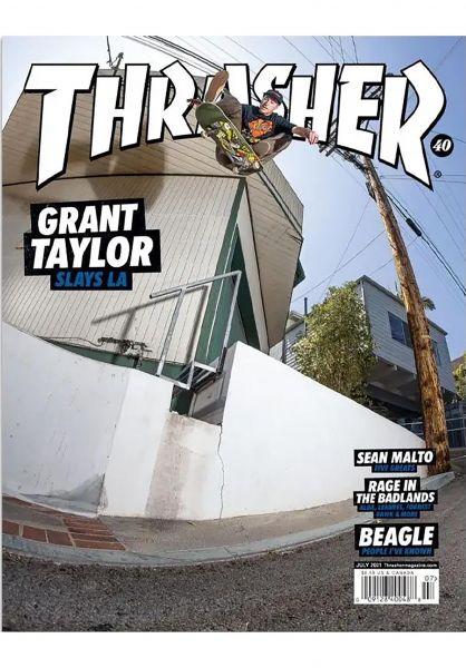Thrasher Verschiedenes Magazine Issues 2021 July vorderansicht 0972704
