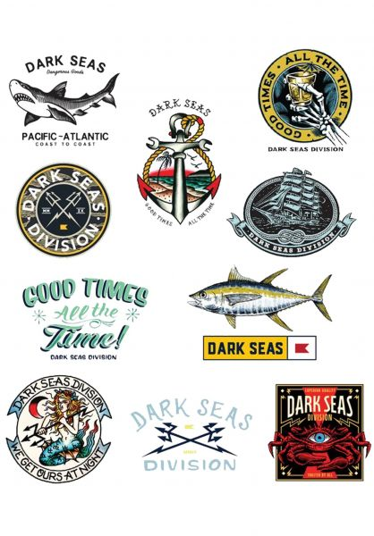 Dark Seas Verschiedenes Sticker Pack V multicolor vorderansicht 0972179