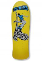 H-Street Skateboard Decks Matt Hensley Street Swinger C-Series yellow-silver Vorderansicht