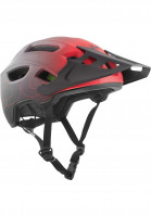 TSG Helme Trailfox Graphic Design fade to red Vorderansicht