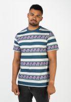 huf-t-shirts-monarch-stripe-paleaqua-vorderansicht-0321834
