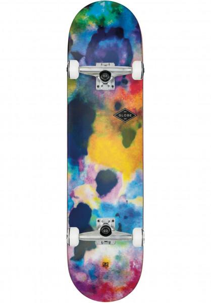 Globe Skateboard komplett Full On Color Bomb color-bomb Vorderansicht