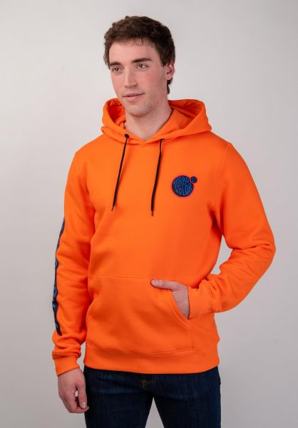 Turbokolor Hoodies Banks orange vorderansicht 0445382