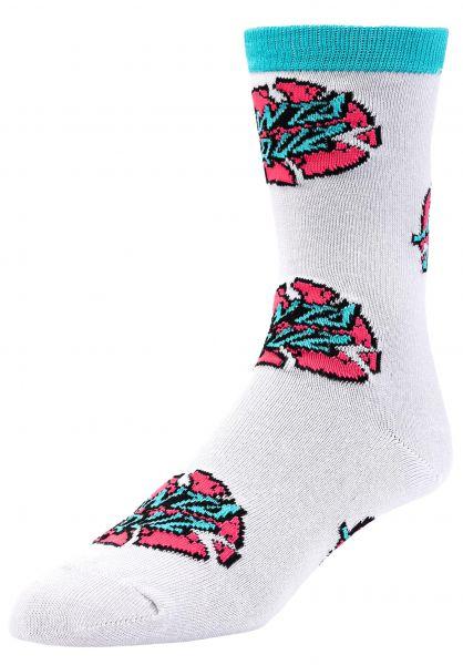 Santa-Cruz Socken Broken Dot multi vorderansicht 0632164