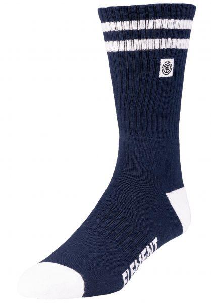 Element Socken Clearsight insigniablue vorderansicht 0631674