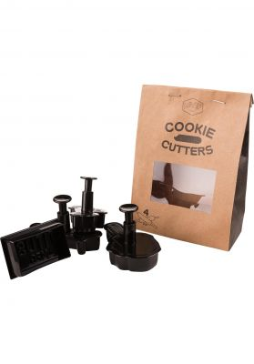 TITUS Verschiedenes Cookie Cutter Set of 4