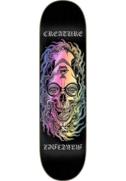 Creature Skateboard Decks Martinez Phantasm VX black vorderansicht 0265996