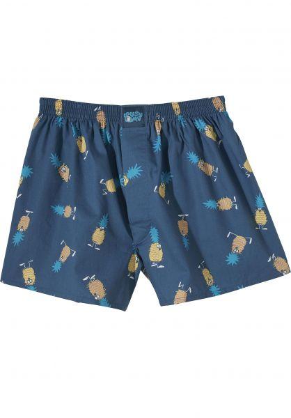 Lousy Livin Unterwäsche Ananas bluedive Vorderansicht