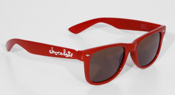Chocolate Sonnenbrillen Chunk Shades red Vorderansicht