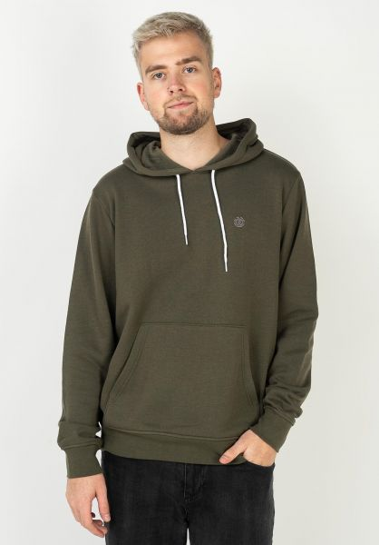 Element Hoodies Cornell army vorderansicht 0443112