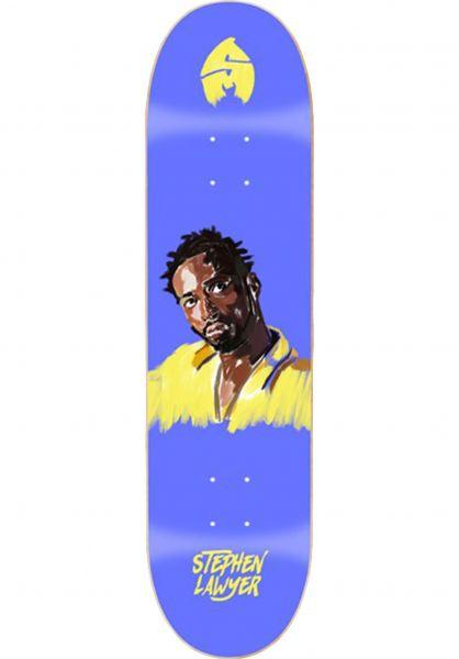 Sk8Mafia Skateboard Decks Lawyer 4EVA purple vorderansicht 0262219
