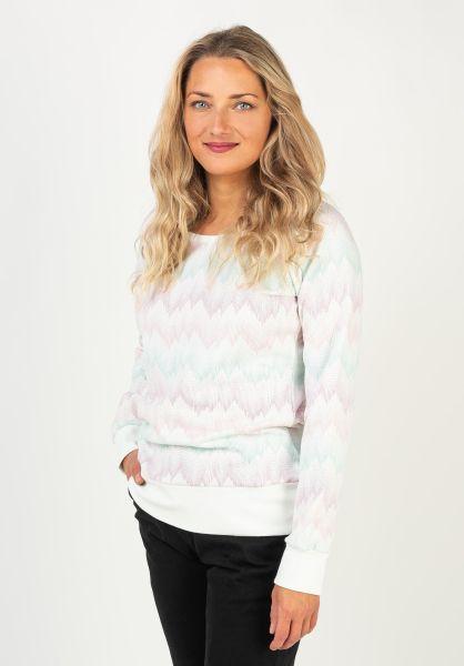 Mazine Sweatshirts und Pullover Irma offwhite-zigzag vorderansicht 0422958
