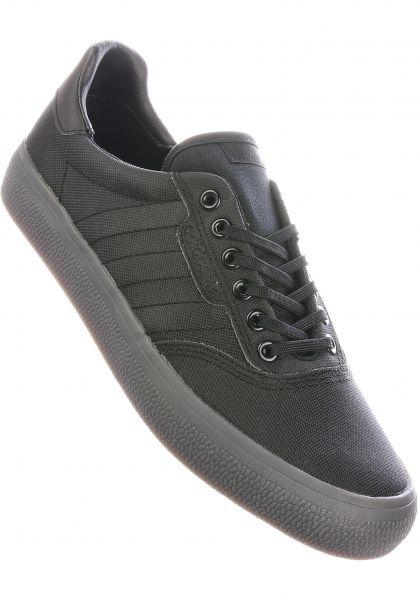 adidas-skateboarding Alle Schuhe 3MC black-black-black vorderansicht 0604427