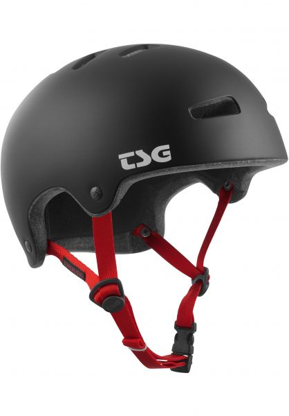 TSG Helme Superlight Solid Color II satin-black Vorderansicht