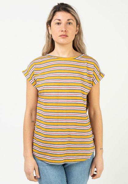 Wemoto T-Shirts Holly Stripe multicolor vorderansicht 0322827