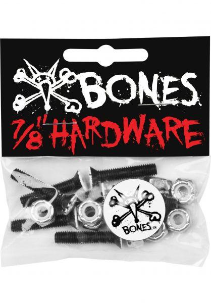 """Bones Wheels Montagesätze 7/8""""-Kreuz black Vorderansicht"""
