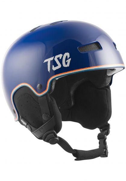 TSG Snowboardhelme Gravity Graphic Design ripped stripes vorderansicht 0750090