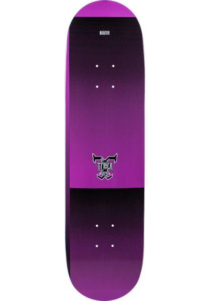 TITUS Skateboard Decks Scan T-Fiber violet vorderansicht 0261372