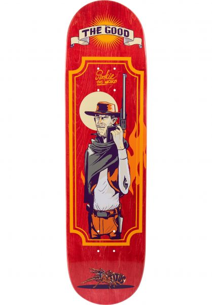 TITUS Skateboard Decks The Good red-orange vorderansicht 0261348