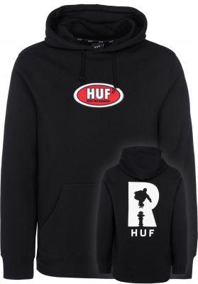 HUF x Real P/O Hoodie