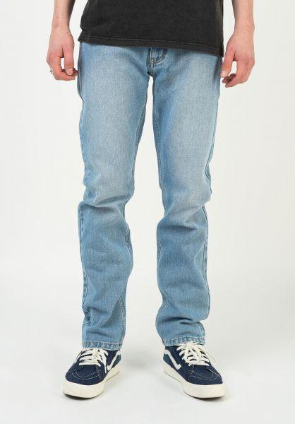 TITUS Jeans Tube Fit blue-bleached vorderansicht 0540535