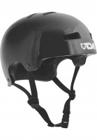 TSG Helme Evolution Kids Solid Color injected black Vorderansicht