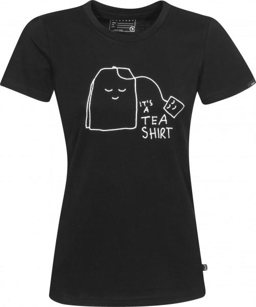 Forvert T-Shirts Columbia black Vorderansicht