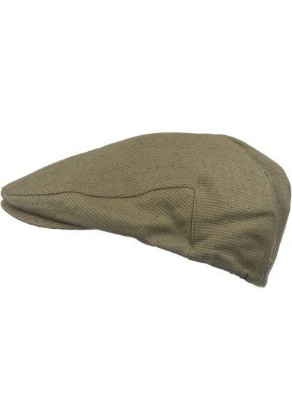 Brixton Hüte Hooligan lightolive-olive Vorderansicht