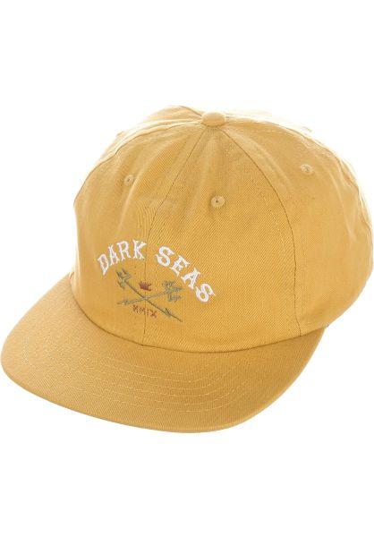 Dark Seas Caps Menace gold vorderansicht 0566015