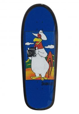 Prime Jason Lee Camera Foghorn Board Lapel Pin