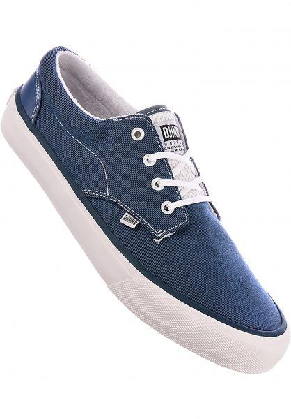 Djinns Alle Schuhe Nice Stripe Jersey navy Vorderansicht