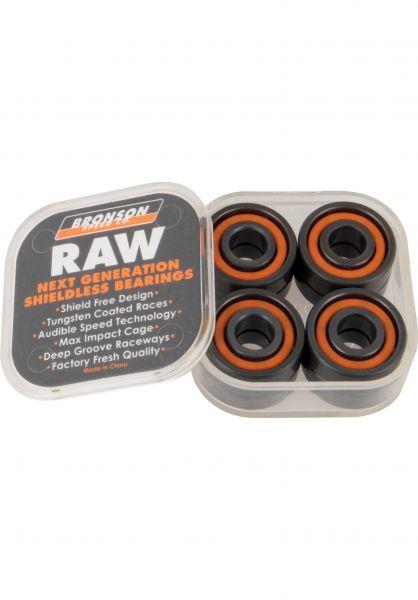 Bronson Speed Co. Kugellager RAW grey-orange vorderansicht 0180284