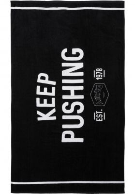 TITUS KEEP PUSHING Beach Towel 180x100cm