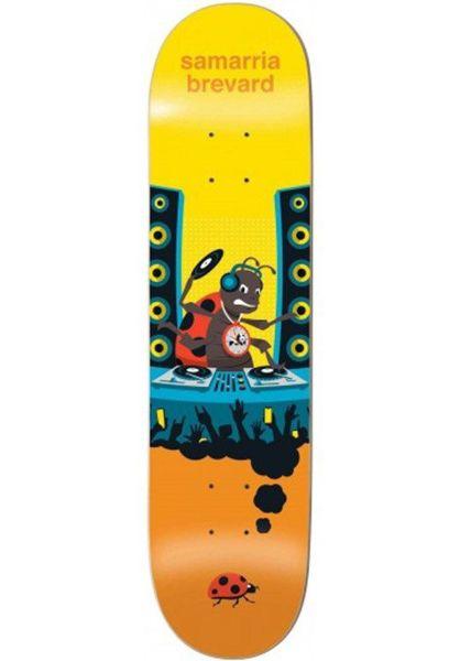 Enjoi Skateboard Decks Samarria Big Dreams IL yellow-orange vorderansicht 0265232