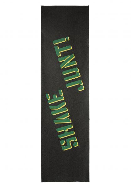 Shake-Junt Griptape Sprayed black-green-yellow vorderansicht 0140684