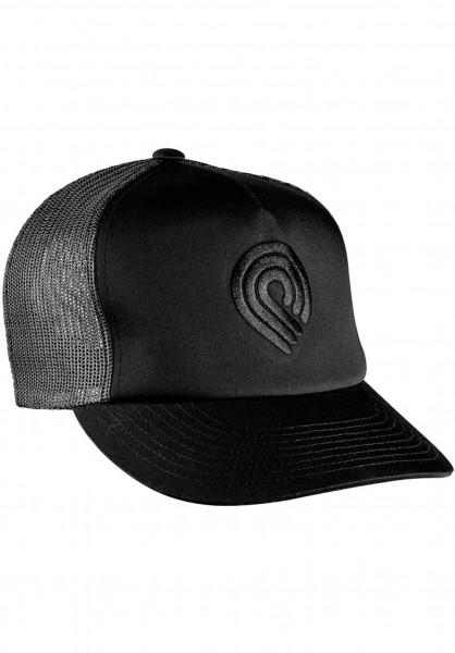 Powell-Peralta Caps Trucker Cap-Triple P black-black Vorderansicht