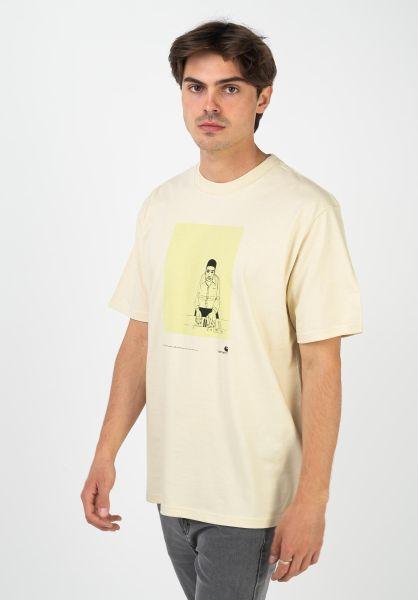 Carhartt WIP T-Shirts 1999 Ad Evan Hecox flour vorderansicht 0322400