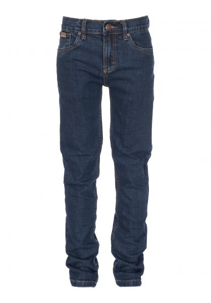 TITUS Hosen und Jeans Tube Fit Kids darkblue-denim Vorderansicht