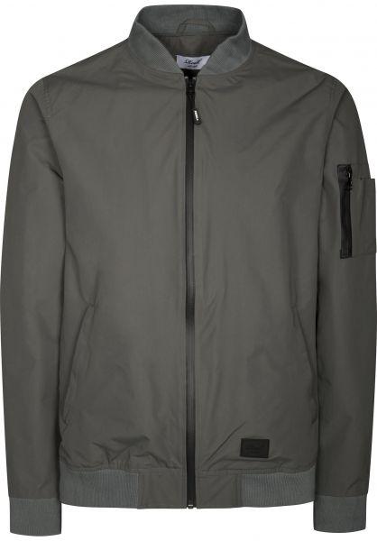 Reell Übergangsjacken Technical Flight Jacket grey Vorderansicht